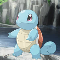 #007 - Squirtle by C-Jean