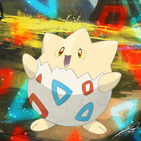 #175 - Togepi by C-Jean