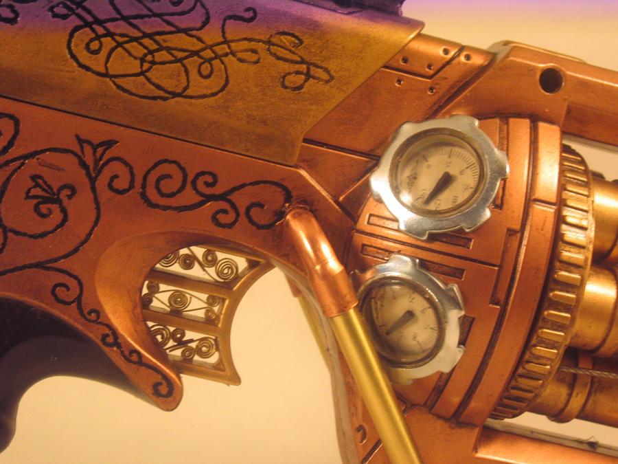 Steampunk Gun Dreameater by EricTcrow