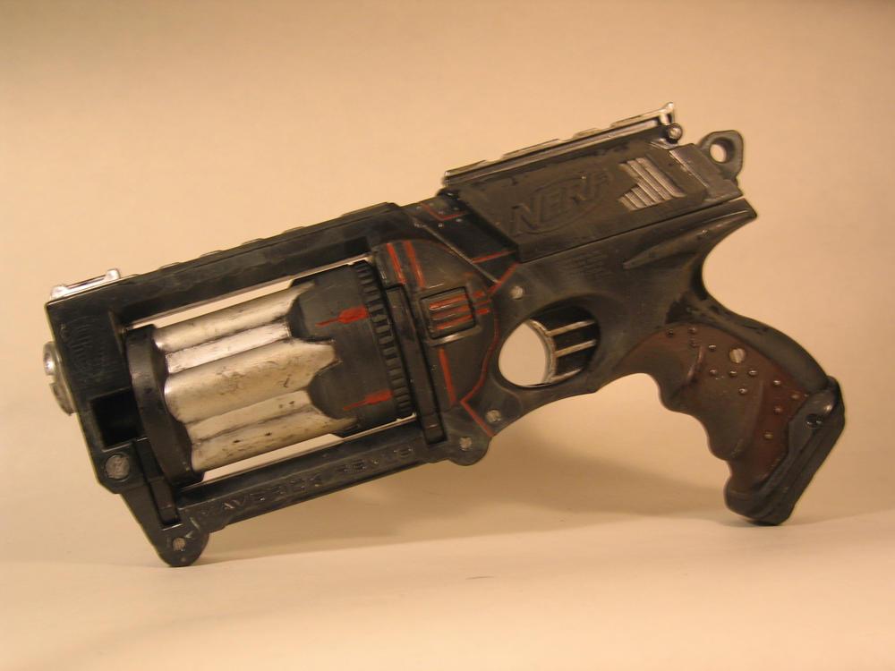 JohnsonArmsProps 7 2 Ebony, A Dieselpunk gun Left by EricTcrow