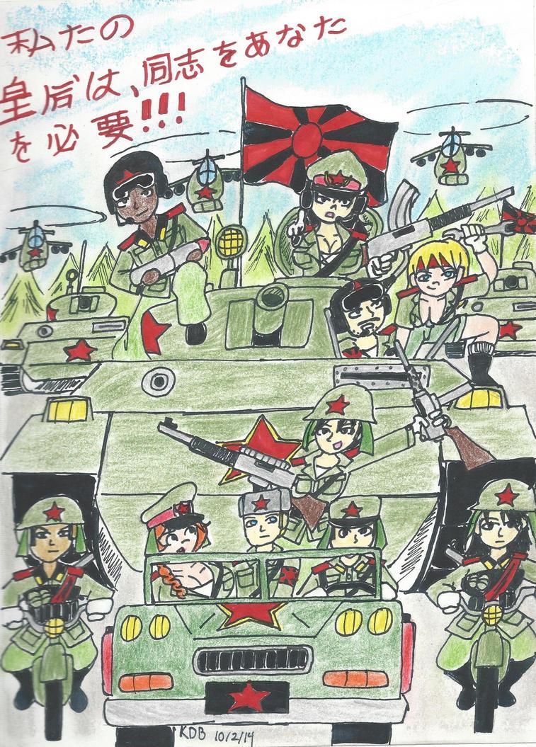 Our Empress Needs YOU, Comrade!!!!! by k123money