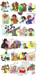 Guess My Favorite Characters by JeannieHarmon