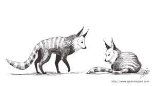 Creature design - Foxish Thing