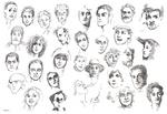 Faces 0-A by JeannieHarmon
