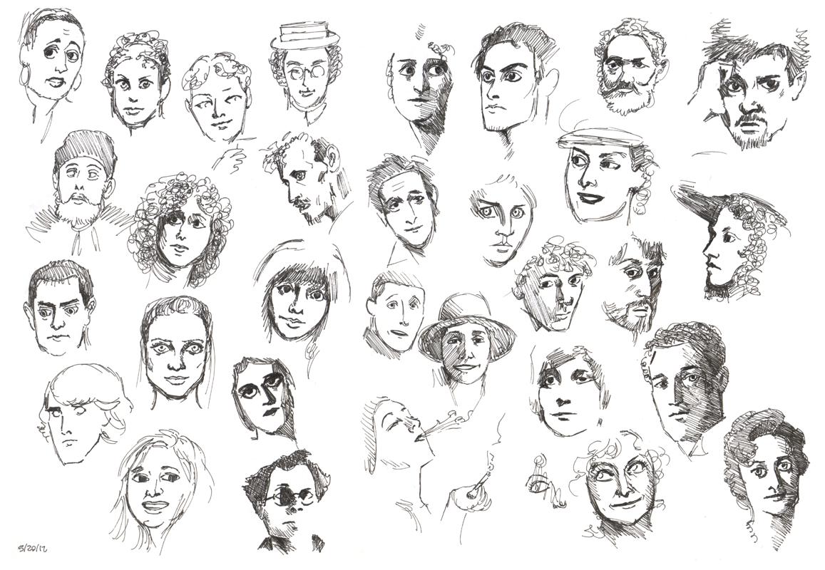 Faces 0-A