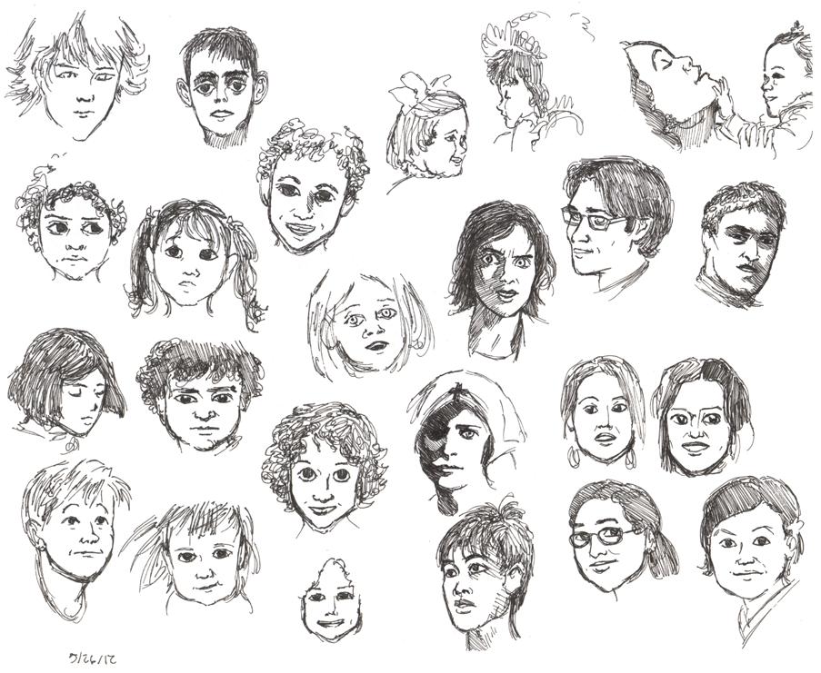 Faces C