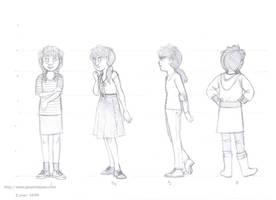 Rumiko Nekoi Character Sheet by JeannieHarmon