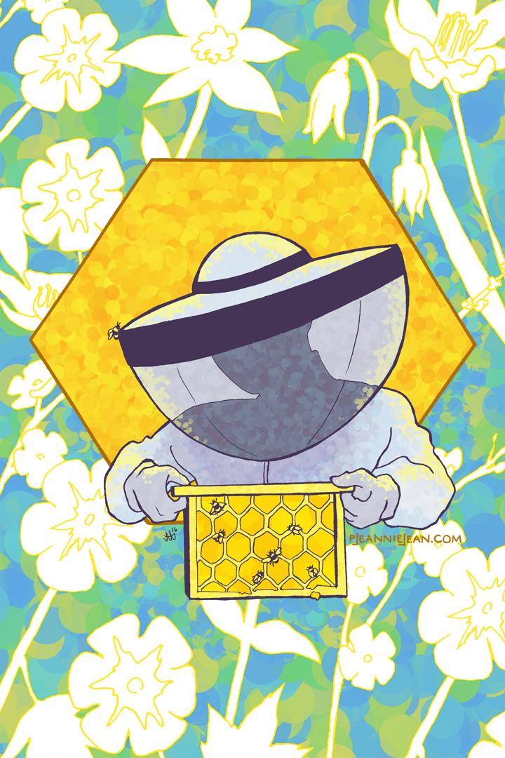 Beekeeper by JeannieHarmon