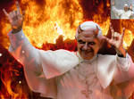 The pope in his true form