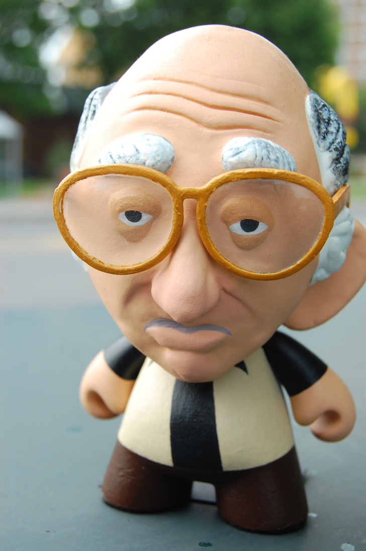 Larry David Custom Munny by corvus-tiberius