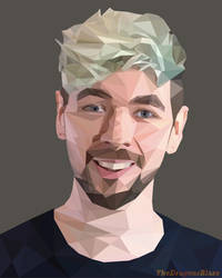 Jacksepticeye (Low Poly) by TheDragonsBlaze