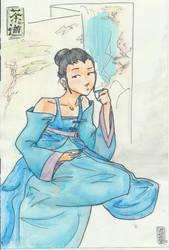 Tea ceremony by Mew2girl