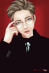 Minseok (Xiumin/EXO) by Harutsubomi-chan