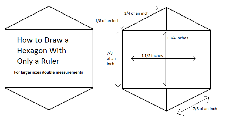 Drawing Lines Using A Ruler Ks : How to draw a hexagon by leiomier on deviantart