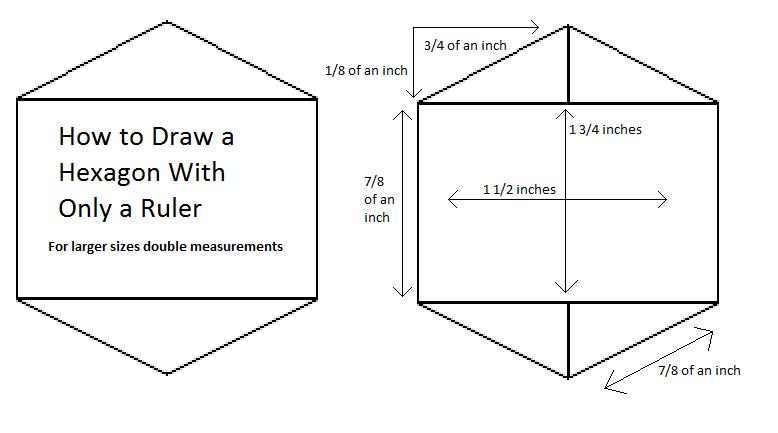 how to create hexagon - photo #1