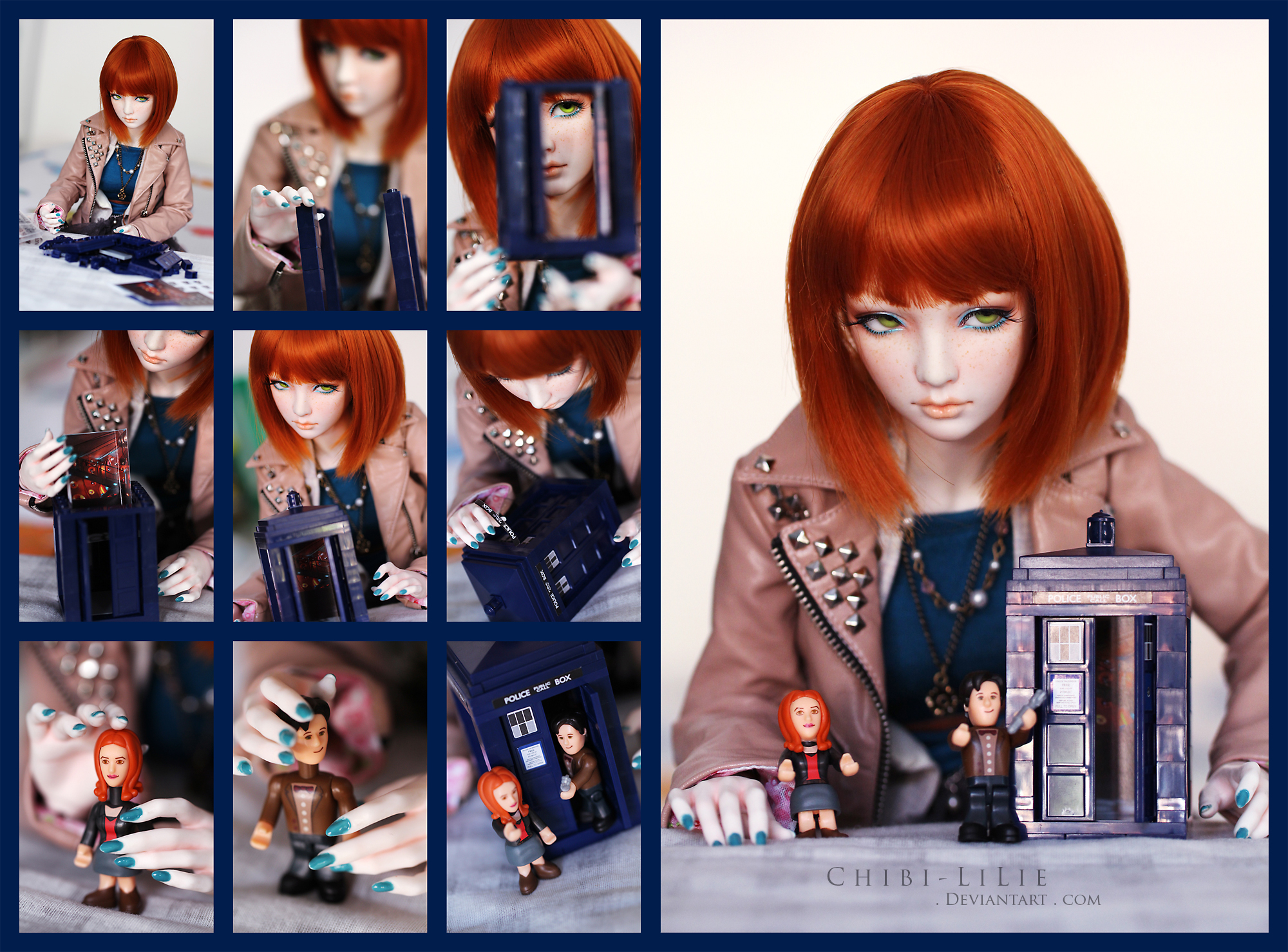 Building a TARDIS by chibi-lilie