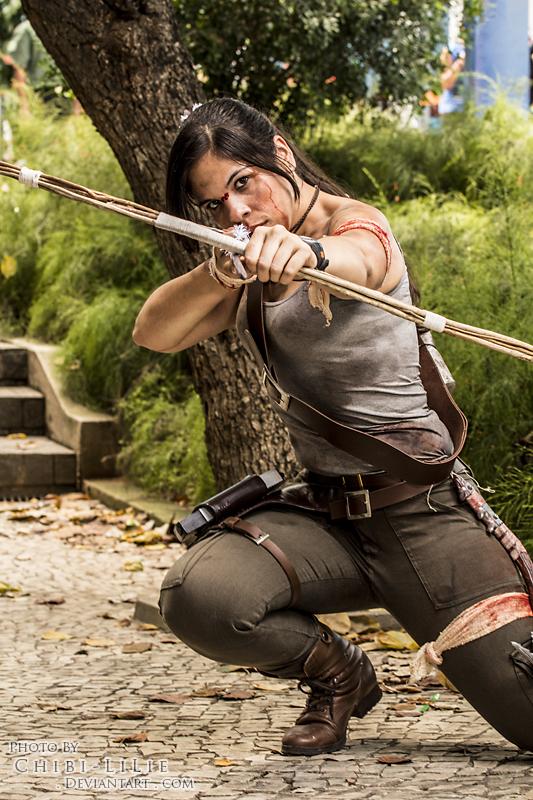 Lara Croft by chibi-lilie