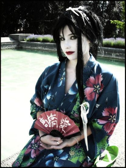Geisha cosplay by Krautsalat-0o