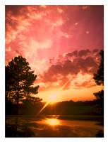 Sun Went Down on Georgia by JupiterLily
