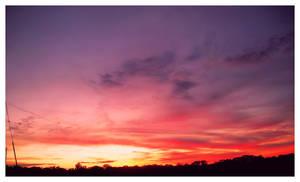 Strawberry Skies by JupiterLily