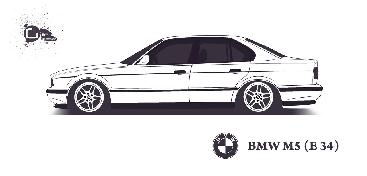 Bmw M5 E34 By Thegile On Deviantart