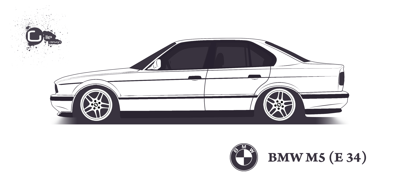 Bmw M5 E34 By Thegile On Deviantart