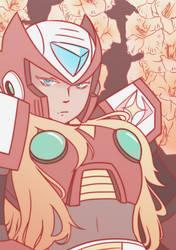 gladiolus by cyborg-prince