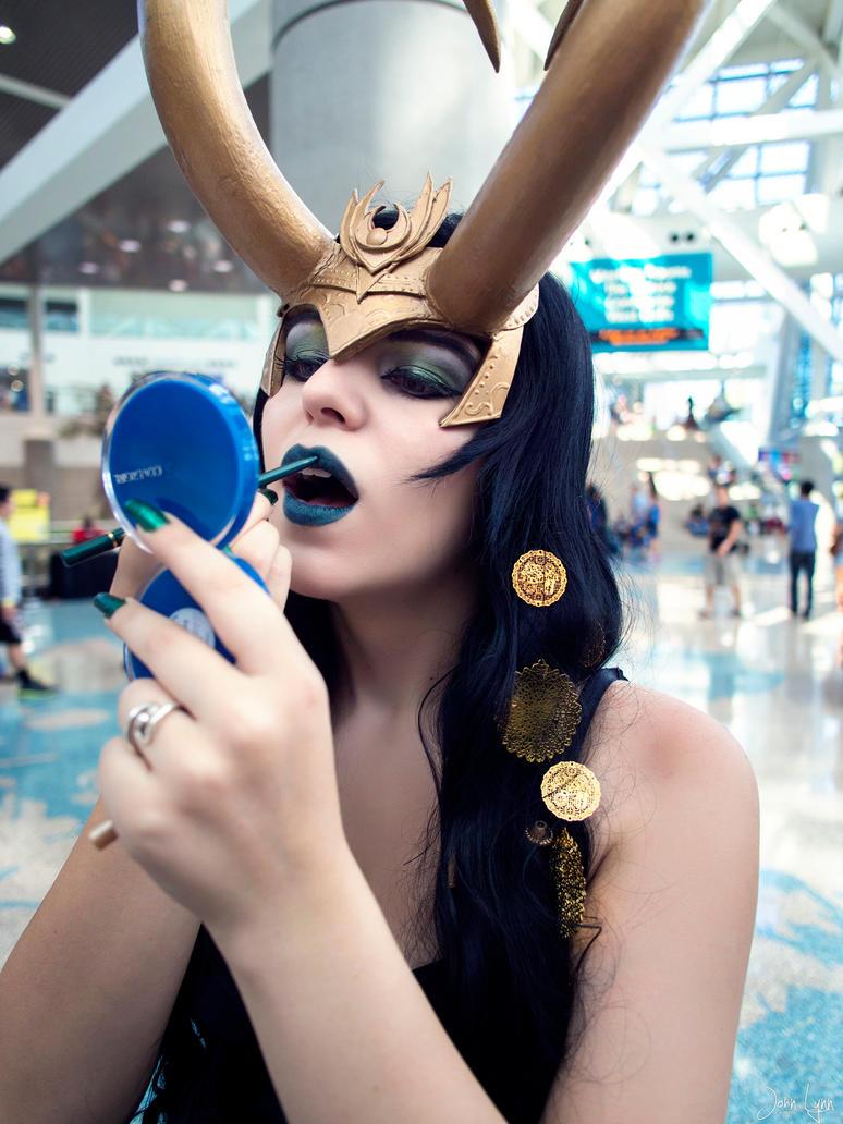 Lady Loki: Covergirl by yirico