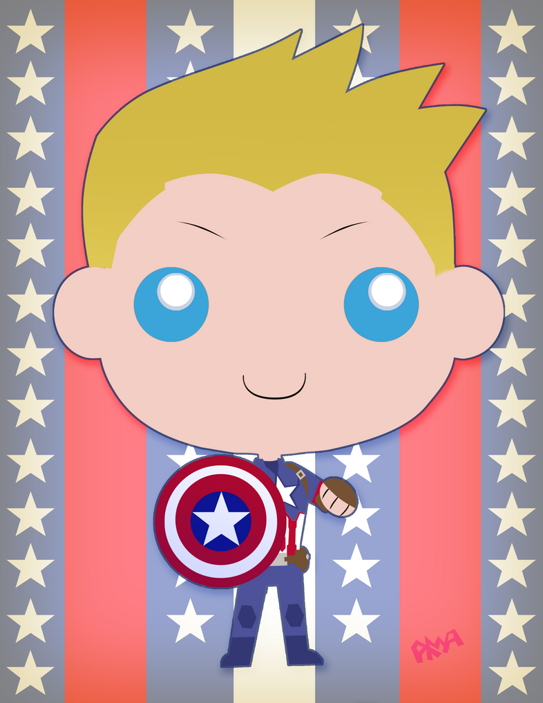 Captain America by gpanthony