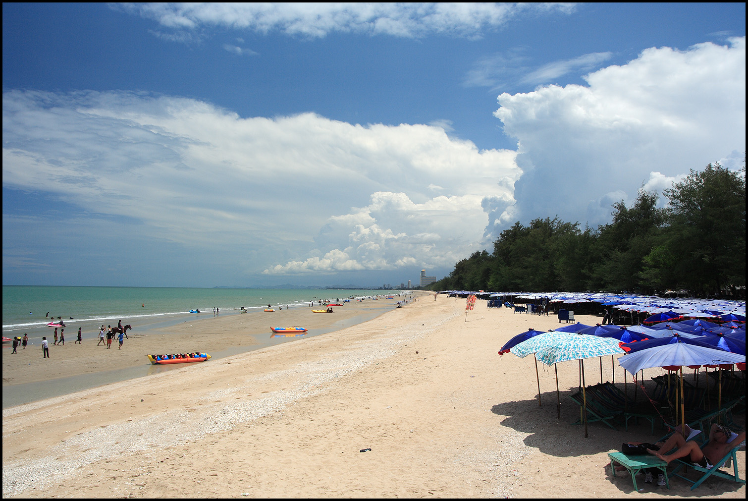 Cha Am Beach Thailand By Superzap On