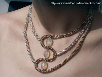 Sandstorm Necklace by baealiel