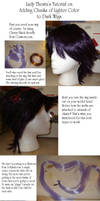 Adding Hair to a Wig by ladythesta