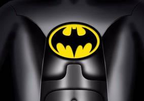 Batman Logo 1992 by darthkurland