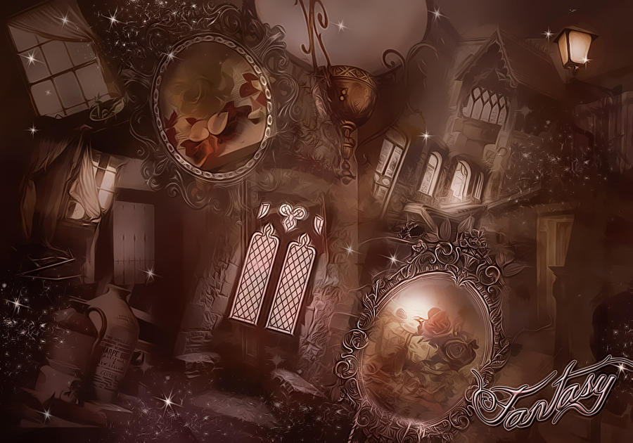 Fantasy Premade Background by VaL-DeViAnT