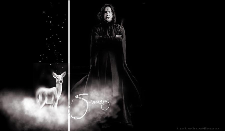 Professor Severus Snape by VaLeNtInE-DeViAnT