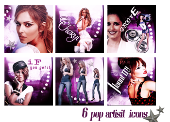 Cheryl Icon Set by VaL-DeViAnT