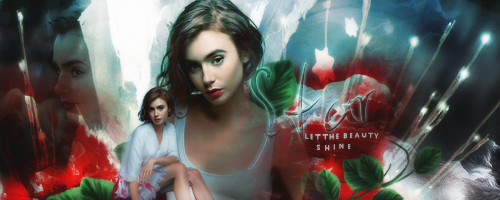 Lily Collins Signature By VaLeNtInE DeViAnT ...