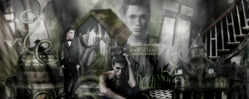 Haunted Signature by VaLeNtInE-DeViAnT