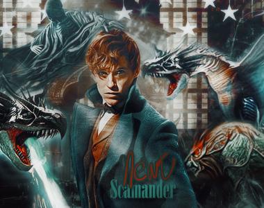 Newt Scamander Chapter Image by VaLeNtInE-DeViAnT
