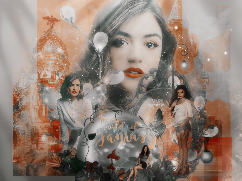 Lucy Hale Blend by VaLeNtInE-DeViAnT