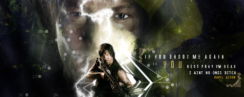 Daryl Dixon Walking Dead by VaLeNtInE-DeViAnT