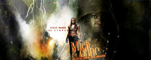 Michonne Walking Dead by VaLeNtInE-DeViAnT