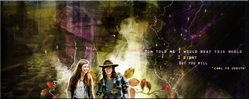 Carl The Walking Dead by VaLeNtInE-DeViAnT