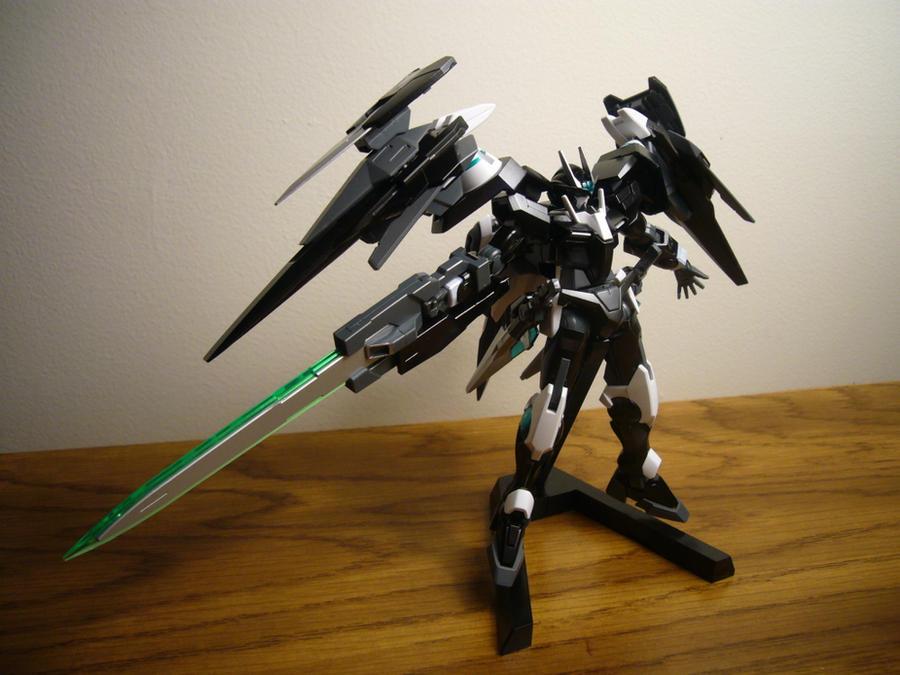 HG 00 Raiser Gundam by lupesisagundam