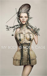 My body is not a cage by Widmanska