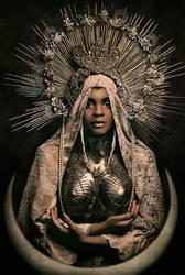 Black Madonna by Widmanska