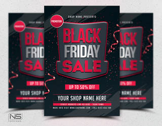 Black Friday Flyer by nsdesigns89