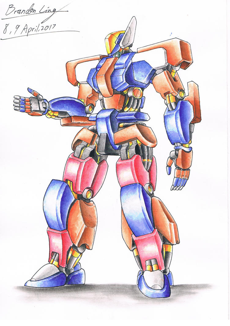 Old Watercolour Mech by Brand-194