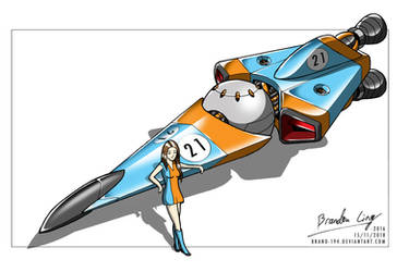 Space Racer (Return to 2016) by Brand-194