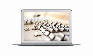 Macbook Air PSD Freebie